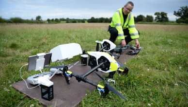 UK's first operational drone unit launch